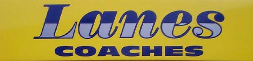 Lanes Coaches logo